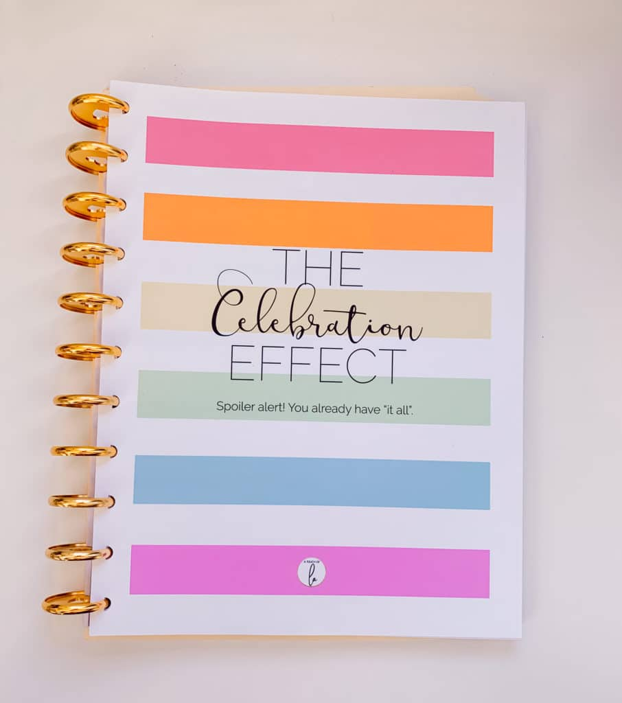 The Happy Planner Gratitude Journal